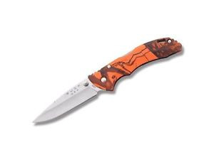 BUCK KNIFE BANTAM BBW MOSSY OAK ORANGE BLAZE