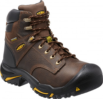 "KEEN MEN'S MT VERNON 6"" SOFT TOE WORK BOOT"