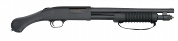 "MOSSBERG 590 SHOCKWAVE, 14"" BBL, 6 ROUNDS"