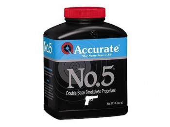 ACCURATE POWDER-NO. 5, 1LB