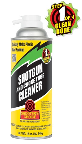 SHOOTER'S CHOICE SHOTGUN & CHOKE TUBE CLEANER 12 OZ