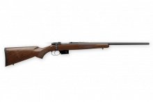 "CZ 527 AMERICAN, 7.62x39., 21.9"" BBL., BLUED/ WOOD"