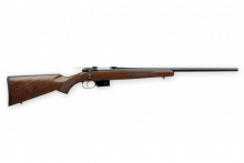 "CZ 527 AMERICAN, 22 HORNET, 21.9"" BBL, WITH RINGS"