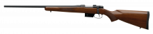 "CZ 527 AMERICAN LEFT HAND, .223 REM., 21.9"" BBL, BLUED/ WOOD"
