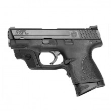 "SMITH & WESSON M&P 40 COMPACT, 31/2"" BBL., GREEN LASER"
