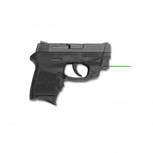 SMITH & WESSON M&P BG380 PISTOL, .380 ACP, CT GREEN LASER