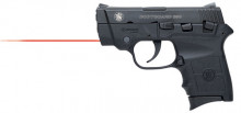 SMITH & WESSON M&P BG380 PISTOL, .380 ACP, CT RED LASER