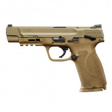 SMITH & WESSON M&P 9 2.0, 9 MM, 5'' BBL., FDE, 17 ROUNDS
