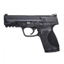SMITH & WESSON M&P 9 2.0 COMPACT, 9 MM, 4'' BBL., BLACK, 15 ROUNDS, NO THUMB SAFETY