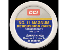 CCI PERCUSSION CAPS MAGNUM, NO.11M