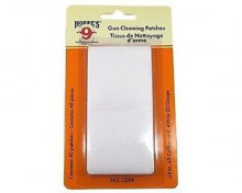 HOPPES GUN CLEANING PATCHES FOR .38  .45 CAL. & .410  20 GA, PACK OF 40