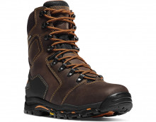 "DANNER VICIOUS 8"" WORK BOOT, COMPOSITE SAFETY TOE, BROWN"