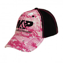 SMITH & WESSON M&P LOGO PINK DIGITAL CAMO CAP