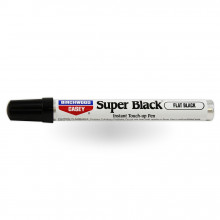 BIRCHWOOD CASEY SUPER BLACK TOUCH-UP PEN, FLAT BLACK