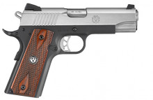 "RUGER SR1911, .45 ACP., 4.25"" BBL., STAINLESS/ ALUMINUM"