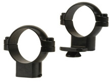 "LEUPOLD STANDARD EXTENSION RINGS, 1"" HIGH, MATTE BLACK"