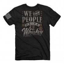 BUCKWEAR MEN'S WE PEOPLE DRINK TEE, BLACK