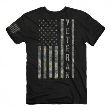 BUCKWEAR MEN'S VETERAN TEE, BLACK