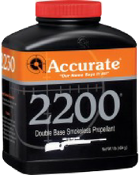 ACCURATE POWDER 2200 1 LB