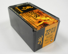 BROWNING AMMUNITION, .22 WMR, 40 GR., JHP, 50 ROUNDS