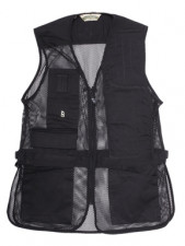 BOB ALLEN MESH SHOOTING VEST 240M LG RT BLACK
