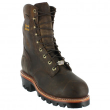 CHIPPEWA SUPER LOGGER 25405 10E BROWN