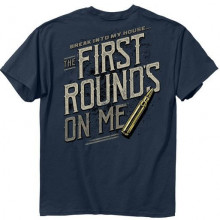 BUCKWEAR MEN'S FIRST ROUND TEE BLUE