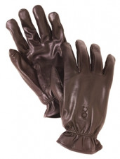 BOB ALLEN N/I LEATHER GLOVE 304 LARGE BROWN
