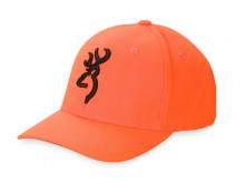 BROWNING SAFETY FLEX CAP, SMALL/MEDIUM, BLAZE