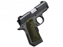 "KIMBER MICRO 9 WOODLAND NIGHT, 9MM, 3.15"" BBL., MATTE, LASER, 7 ROUNDS"