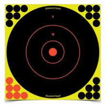 "BIRCHWOOD CASEY SHOOT-N-C 12"" BULLS-EYE TARGET"