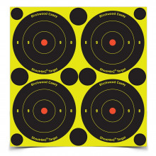 "BIRCHWOOD CASEY SHOOT-N-C 3"" BULLS-EYE TARGET"