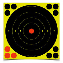 "BIRCHWOOD CASEY SHOOT-N-C 8"" BULLS-EYE TARGETS"