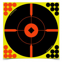 "BIRCHWOOD CASEY SHOOT-N-C 8"" BULLS-EYE ""BMW"" TARGETS"