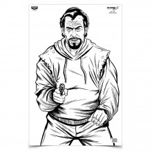 "BIRCHWOOD CASEY BAD GUY TARGET 23"" X 35"""