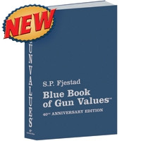 BLUE BOOK OF GUN VALUES 40TH EDITION