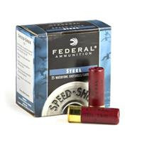 "FEDERAL SPEED-SHOCK HV STEEL, 12 GA 3"" 1-1/4 OZ"