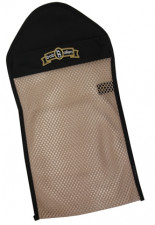 BOB ALLEN MESH POUCH WITH CLIP 423RS  BLACK