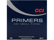 CCI PRIMERS #500 STANDARD SMALL PISTOL