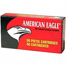 FEDERAL AMERICAN EAGLE AMMUNITION, .45 ACP, 230 GR., FULL METAL JACKET, 50-COUNT