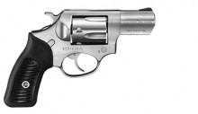 "RUGER SP101 DOUBLE ACTION REVOLVER, .357 MAG. 21/4"" BBL., STAINLESS/ RUBBER, 5 ROUNDS"