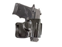 DESANTIS HOLSTER, E-GAT SLIDE, FITS KIMBER MICRO 9, AND SIG SAUER P938