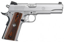 "RUGER SR1911, .45 ACP, 5"" BBL, STAINLESS"