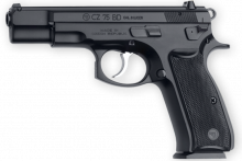 "CZ 75 BD 9MM 4.7"" BBL., BLACK POLYCOAT"
