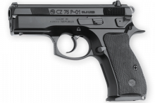 "CZ 75  PO1 COMPACT, 9 MM, 3.8"" BBL., 14 ROUNDS"