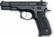 "CZ 75 B, 9 MM, 4.7"" BBL. BLACK POLYCOAT"
