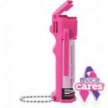 MACE HOT PINK PERSONAL MODEL 3.2 OZ PEPPER W/ KEYCHAIN