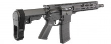 "RUGER AR-556 PISTOL, 5.56MM, 10.5"" BBL, TYPE III HARD COAT ANODIZED SB TACTICAL SBA3 STABILIZING BRACE"