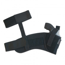 UNCLE MIKE'S ANKLE HOLSTER, RH, SMALL AUTO (.22.25 CAL)
