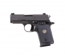 """SIG SAUER P938 LEGION, 9 MM, 3"""" BBL, GRAY N.S., 7 ROUNDS"""